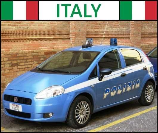 Поліцейські автомобілі з 25 країн світу