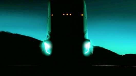 Перше фото вантажівки Tesla