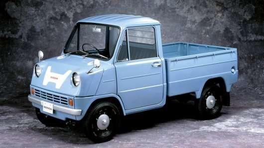 Ось яким був перший автомобіль Хонда
