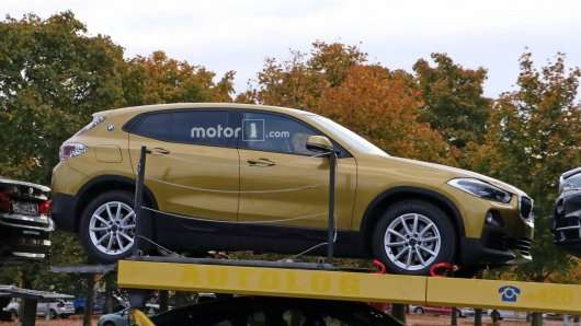 Шпигунські фотографії розкрили зовнішність 2018 BMW X2