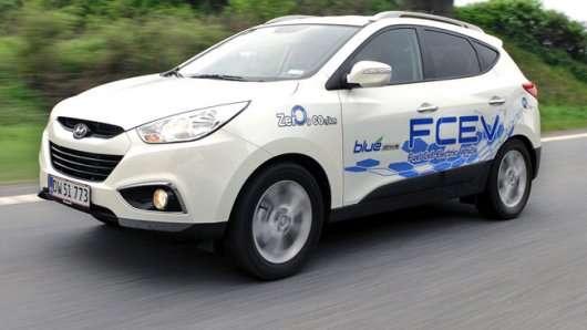 Як працюють водневі автомобілі