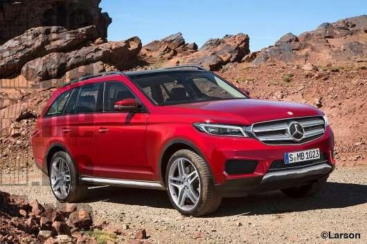 2019 Mercedes GLS: Перша інформація і фотографії, коротко