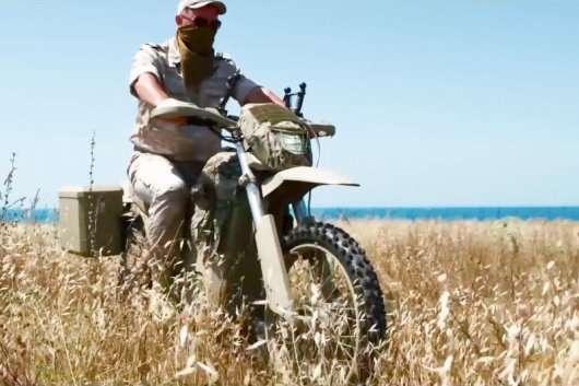 Калашников і його лінійка новеньких электромотоциклов