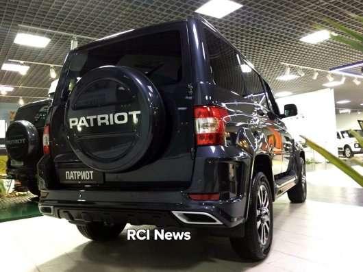 Преміум обвіс для УАЗ Патріот за 200 тис рублів