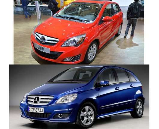 Найбільш явні Китайські клони популярних автомобілів