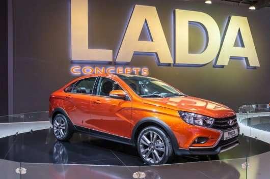 Lada зробить Vesta Cross у кузові седан
