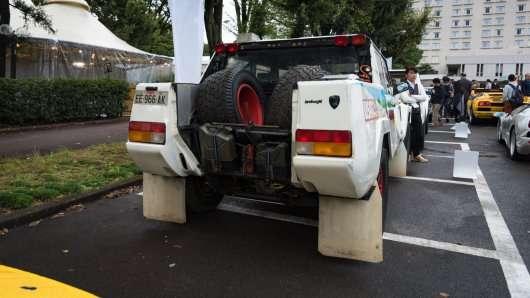 Парад Lamborghini в Японії — дощ не перешкода!