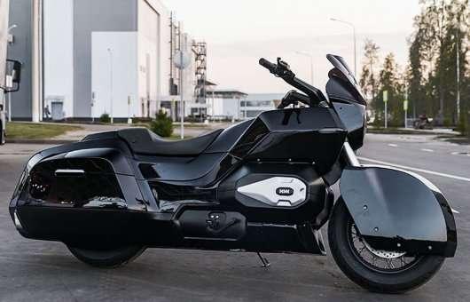 Фотографії та перші технічні дані дуже незвичайного мотоцикла «Кортеж»