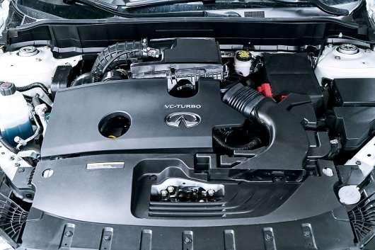 Infiniti QX50: Перший автомобіль оснащений двигуном з змінним ступенем стиснення