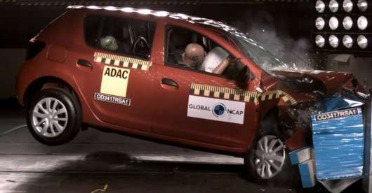 Краш-тести Global NCAP показали низьку підготовку пяти популярних моделей