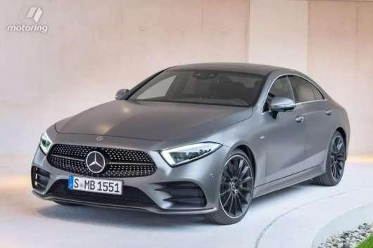 Витік фото 2019 Mercedes CLS