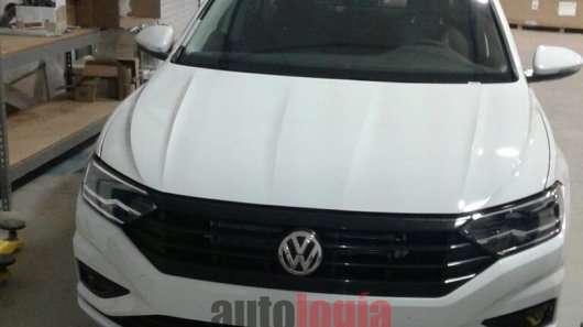Тизерное фото нового Volkswagen Jetta