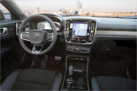 Тест Volvo XC40