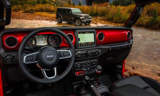 Вся існуюча інформація про позашляховик Jeep Wrangler 2018 року