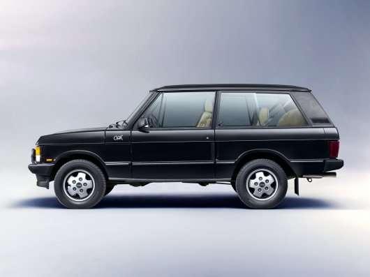 Нова модель Range Rover може стати дводверним купе