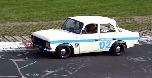 Найнезвичайніші автомобілі на трасі в Нюрбургринзі