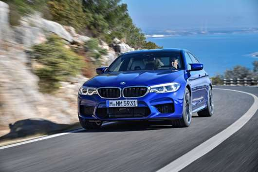 Тест BMW M5 2018 модельного року