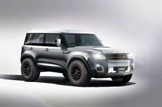 Вирішено, новий Land Rover Defender зявиться в 2019 році!