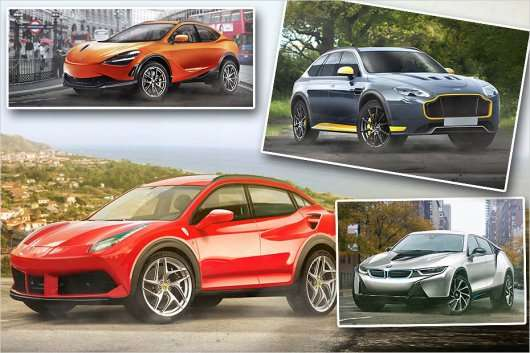 Ось так спортивні автомобілі можуть виглядати у вигляді позашляховиків