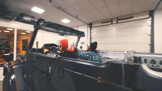 Ось як буде виглядати Mercedes G500 без даху
