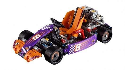 Топ 16 автомобільних збірок від Lego