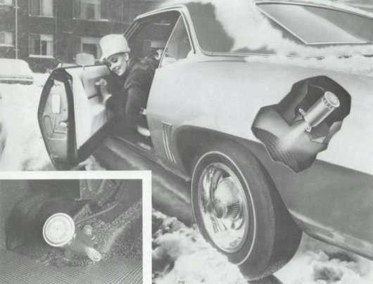 Сама дивна спроба GM зробити зимові шини