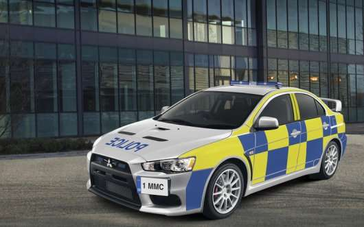Самі круті поліцейські машини в світі