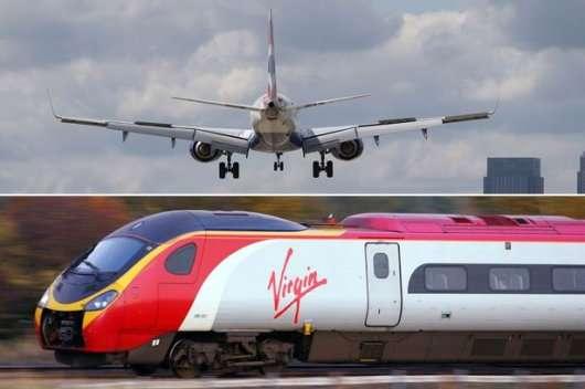 Що могутніше: Поїзд чи літак