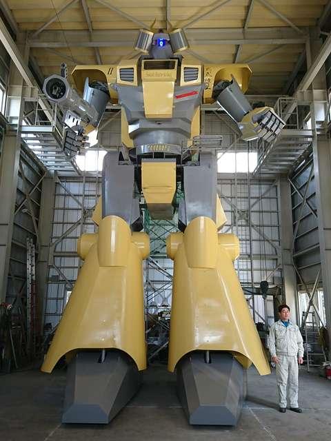 Відео: Робот-гігант з Японії, він рухається!
