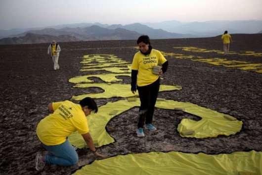 Водій вантажівки пошкодив легендарні лінії Наска в Перу
