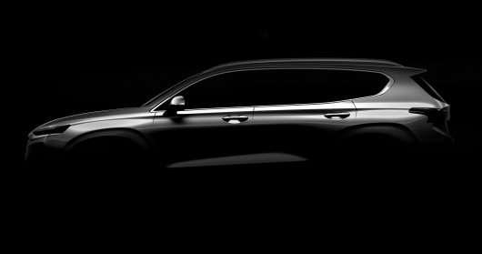 Кросовер Hyundai Santa Fe четвертого покоління був представлений в Кореї
