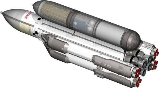 Росія починає розробляти надважку ракету