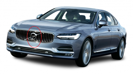 Навіщо в автомобілях Вольво діагональна смужка на решітці радіатора