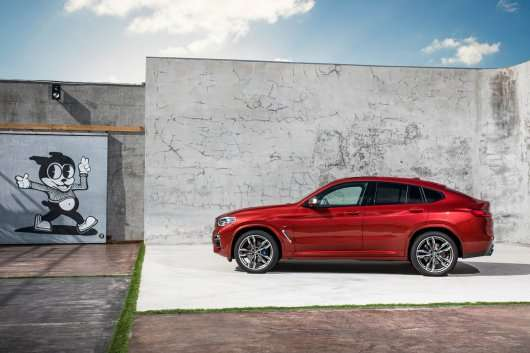2019 BMW X4: Премєра і перші дані про новинку