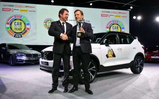 Кросовер Volvo XC40 став європейським автомобілем 2018 року