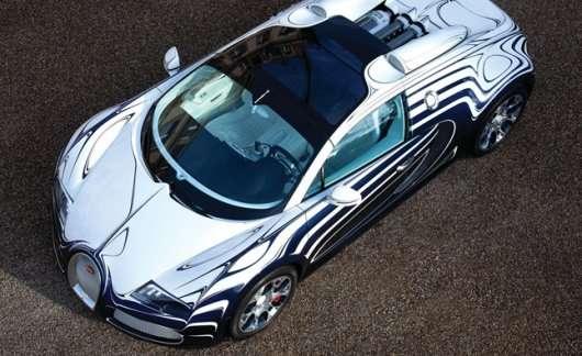 10 автомобілів, чия яскраве забарвлення видно навіть з космосу