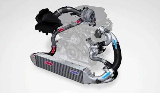 Пояснення принципу роботи двигуна Audi з трьома турбінами