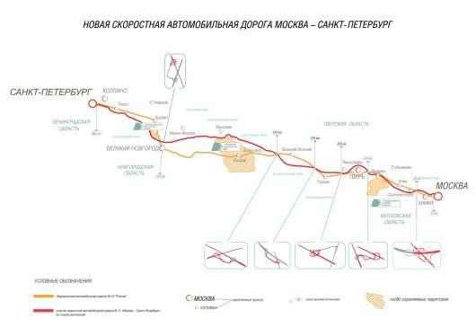 Ось скільки буде коштувати платна траса Москва – Санкт-Петербург